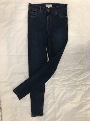 Mango Jeans a sigaretta blu-blu acciaio