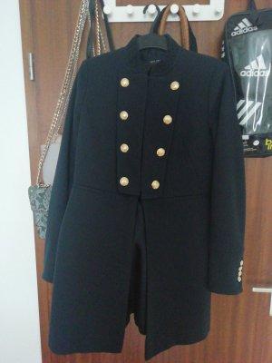Zara Basic Naval Jacket dark blue