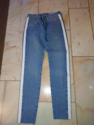Blaue Medium Skinny Fit