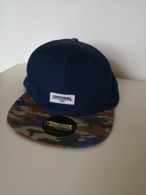 Blaue military Camouflage Cap Snapback verstellbar