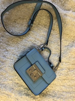 Blaue Minitasche