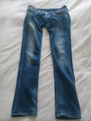 Pepe Jeans London Low Rise Jeans blue