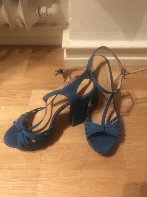 Blaue Phillip Hardy Heels