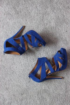 Blaue Pimkie Sandaletten Heels