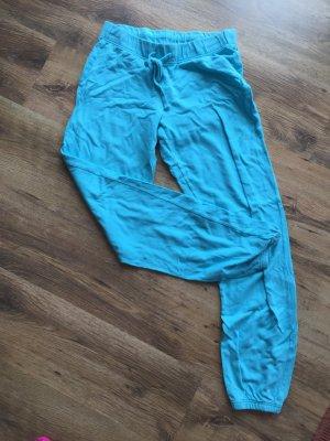 Blaue Piyama Hose Schlafanzug Hose