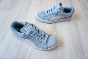 Blaue Puma Suede Sneaker