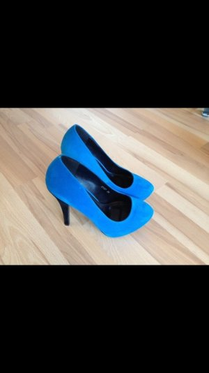 Pumps black-blue
