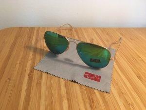 Blaue RayBan Aviator Sonnenbrille