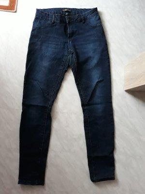 Blaue Regular Skinny Jeans