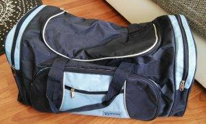 Reistas donkerblauw-neon blauw