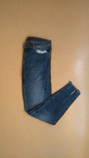 Blaue Ripped Jeans Zara S