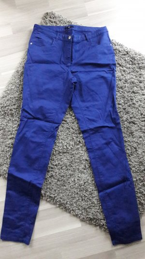 blaue Röhrenhose von H&m