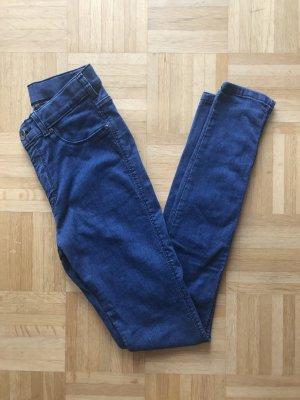 Dr. Denim Hoge taille jeans blauw