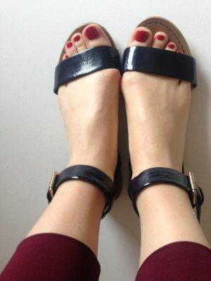 Blaue Sandalen Gr. 36