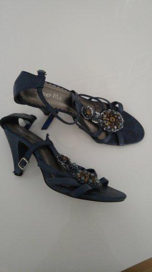 blaue Sandalen Grösse 39