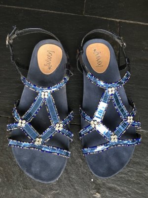 Xyxyx Strapped High-Heeled Sandals blue