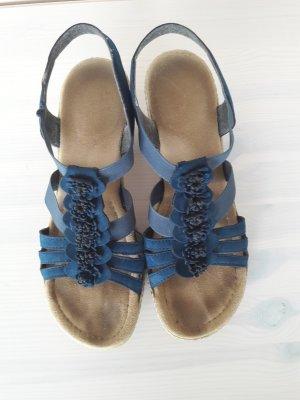 Blaue Sandalen von Rieker