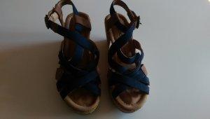 Blaue Sandaletten von Gabor in Größe 37