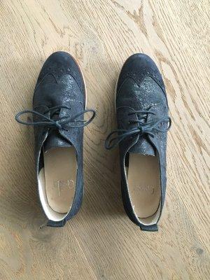Caprice Chaussures basses bleu cuir