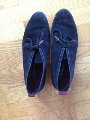 Blaue Schuhe Tamaris