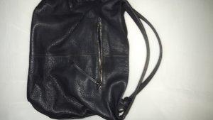 Marc O'Polo Shoulder Bag dark blue leather