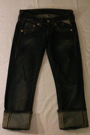 Blaue sehr gut erhaltene Replay-Jeans im klassischen Replay-Schnitt