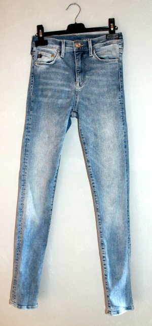 Blaue Shaping Jeans