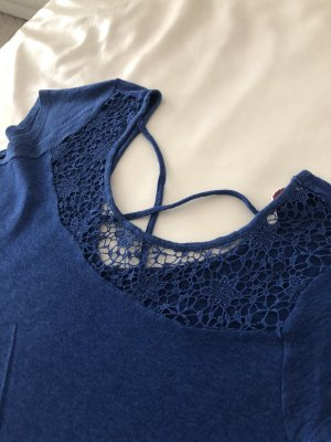 Crochet Shirt blue