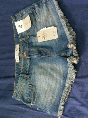 blaue Shorts kurze Hose gr 40 Neu stylisch
