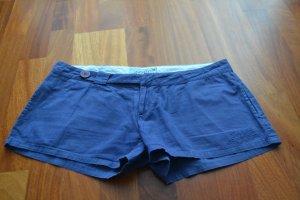 Short blauw Katoen