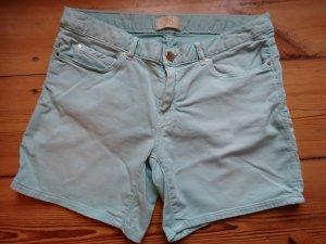 Blaue Shorts von zara