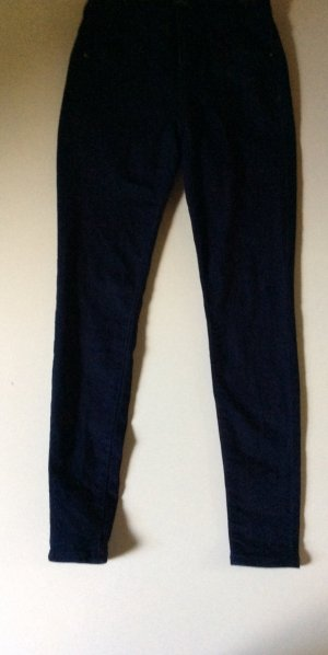 Blaue skinny Jeans mid waist