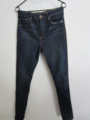 blaue skinny Jeans vom h&m