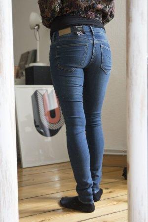 Blaue Skinny Jeans von Divided
