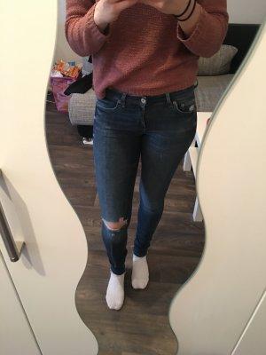 Blaue Skinny Jeans von H&M