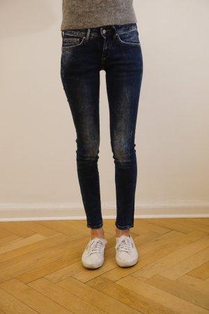 Blaue Skinny Jeans von Mango