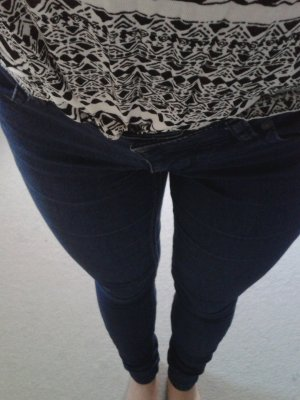 Blaue skinny Jeans von Only