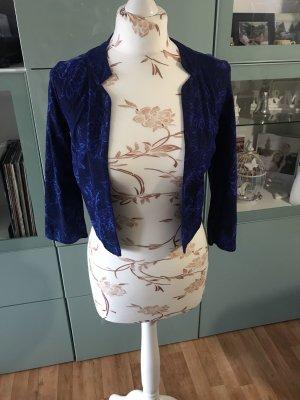 Blaue Spitzen Jacke von H&M