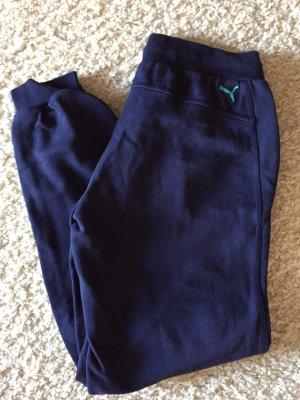 Puma Sportbroek donkerblauw-lichtblauw
