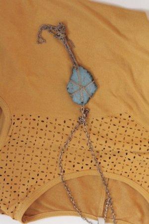 blaue Steinkette , Stradivarus