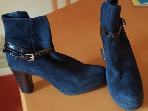 blaue Stiefeletten von Di Lauro