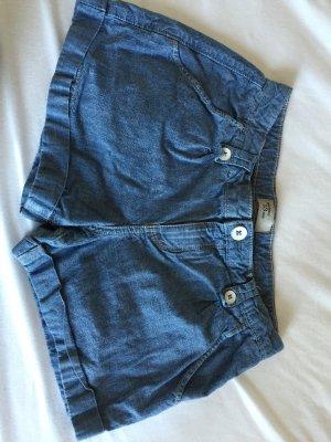 Blaue Stoff Shorts Gr.XS