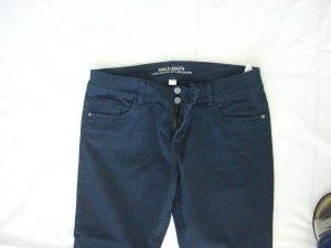 Blaue Stoffhose / Jeans Kurzgröße