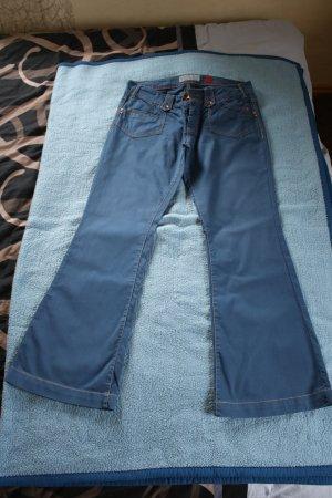 blaue Stoffhose von s.oliver