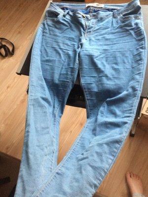 Blaue Stretch Hose