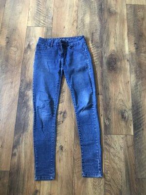 Blaue Stretch Jeans