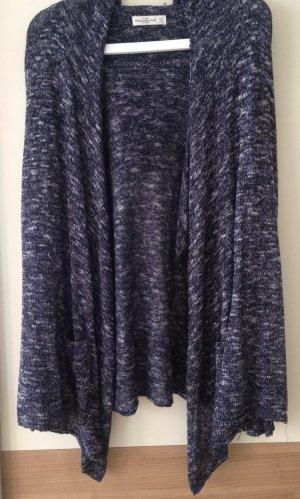 Blaue Strickjacke von Abercrombie & Fitch