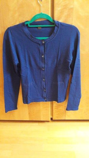 blaue Strickjacke von s.Oliver
