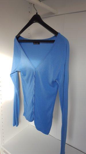 Blaue strickjacke von Vero Moda