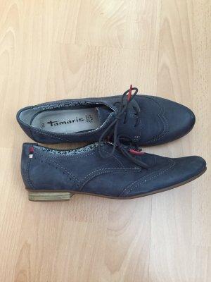 Blaue Tamaris Schuhe in Größe 39